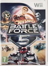Hot Wheels Battle Force 5 - Nintendo Wii - Complet - PAL FR