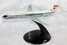 VTG USAF US MILITARY AIRLIFT COMMAND C-9A DOUGLAS AIRCRAFT DESK MODEL