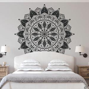 The Francis Mandala Wall Decal, organic geometric design, yoga studio art K755