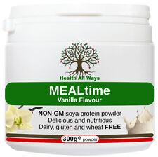 Vegan Meal Replacement Protein Shake Vanilla Flavour Dairy Free Gluten Free