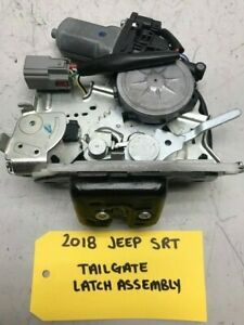 14-18 JEEP GRAND CHEROKEE SRT8 OEM REAR TAILGATE HATCH LATCH ASSEMBLY