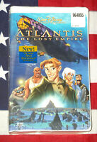 NEW Atlantis The Lost Empire (VHS, 2001) Walt Disney Video Clamshell Rare SEALED