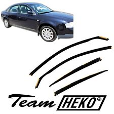DAU10213 AUDI A6 4 türer Limousine 1997-2003 HEKO Windabweiser dunkel 4-tlg Satz