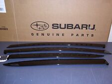 Genuine OEM Subaru WRX & STI Side Window Deflectors 2015 - 2018 (E3610FJ860)