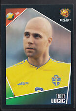 Panini Football Sticker - UEFA Euro 2004 - No 185 - Sweden - Teddy Lucic