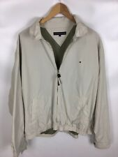 TOMMY HILFIGER Jacke, beige, Größe L, 100% Baumwolle