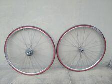 """ruote  corsa road 28"""" eroica wheels bici bike Campagnolo veloce Nisi 8 v s"""