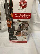 Hoover WindTunnel 2 Whole House Rewind Bagless Pet Upright Vacuum Cleaner . A3