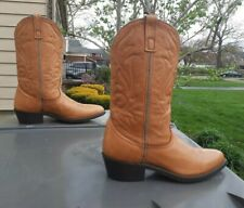 Masterson cowboy Men's Tan Boots Size 9 1/2 D ( RB8250 )