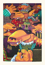 "Markus Pierson ""Masquerade"" Hand Signed Limited Edition Fine Art Serigraph"