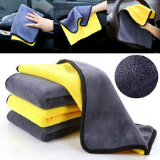 Super Absorbent Car Wash Coral Velvet Soft Cleaning Towel Drying Cloth 30X30cm