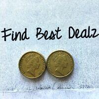 🇦🇺2x 1998 $2 Two Dollar Coin Aboriginal Elder Low Mintage RARE📮FREE Post