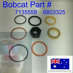 Hydraulic Bucket Cylinder Seal kit fits Bobcat 7135558 6803325 220 320 322 323