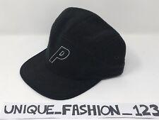 PALACE SKATEBOARDS FW15 L/XL  BLACK FLEECE STADIUM 6 PANEL CAMP CAP P HAT XL