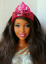 Barbie Doll African American Nikki Princess Redressed Cute