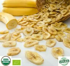 Pure Ceylon Organic Dehydrated Banana Fruit Coins Dried Slice Nutritional Snack