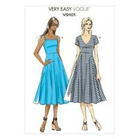 Vogue Sewing Pattern V9101 Women's Pullover Summer Dress