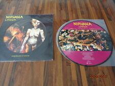 "NIRVANA  ""LITHIUM"" - UK 12"" 45Rpm  - DGCTP9 - PICTURE DISC"