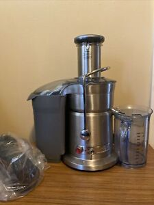 Breville electric Juice Fountain Elite Juicer 800JEXL extra plunger Included