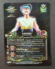 Yu Yu Hakusho TCG Dark Tournament Unlimited S21 Yusuke Unleashed