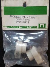 2 WAGNER MODEL HFL-5257 FUSIBLE LINKs OPEN 257 D F
