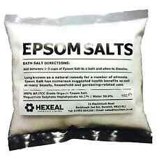 Sal De Epsom | Bolsa De 1 kg | | alimentos grado farmacéutico | Sulfato De Magnesio
