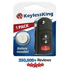 Replacement Remote Car Key Fob For Mazda 2 5 Cx 7 Cx 9 Bgbx1t478ske125 01 Fits Mazda