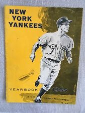 1965 New York Yankees Yearbook & 1965 Scorecard and Official Program 9/3/19