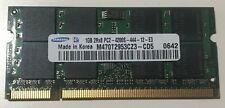 Samsung 1GB 2Rx8 PC2-4200S-444-12-E3  DDR2 533MHz MemoryM470T2953CZ3-CD5