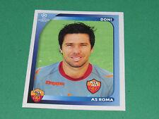 452 DONI AS ROMA UEFA PANINI FOOTBALL CHAMPIONS LEAGUE 2008 2009