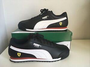 Men's Puma SF Roma Ferrari Trainers Black BRAND NEW Size UK 10.5 Motorsport