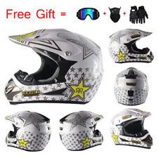 Off-road Motorcycle Helmet Dirt Bike Helmet Motocross Racing Helmet +3Pc Gift