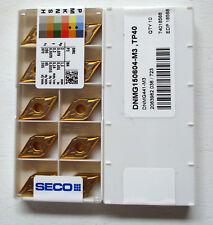 Seco DNMG 150604-M3 TP40 Wendeplatten Wendeschneidplatten Carbide Inserts