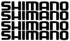 4 X Premium Qualità SHIMANO telaio della bicicletta sedile BOX logo adesivi decalcomanie
