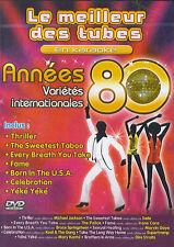 Le meilleur des tubes en karaoke : Années 80 - Variétés internationales (DVD)