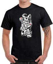 JOKER POKER GAMBLE rockabilly tattoo punk tribal gambler pokern FUN T-Shirt