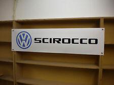Volkswagen Scirocco pvc workshop banner, GTI, GLS, GTX, Scala, GT, LS, CL.. ect
