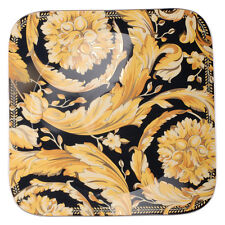 """VERSACE  BY ROSENTHAL, GERMANY  """"VANITY"""" SERVICE PLATE. 13 INCH, SQUARE"""