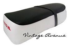 HONDA C50 C65 C70 C90 COMPLETE SEAT ASSY [BLACK/WHITE]