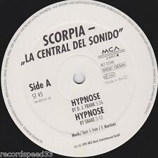 """12"""" SCORPIA - La Central Del Sonido - Hypnose - Kern -"""