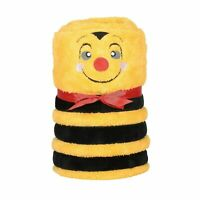 Department 56 Snowpinions Bee Snowthrow 60x45 Sherpa Blanket 6004986