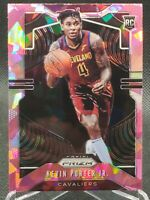 Kevin Porter Jr 2019-20 Panini Prizm Pink Cracked Ice RC Rookie Card Cavaliers