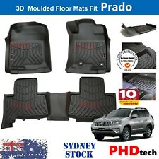 Premium Quality TPE 3D Car Floor Mats for Toyota Land Cruiser Prado 2010-2021