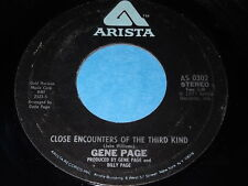 Gene Page: Close Encounters Of The Third Kind / When You Wish Upon A Star 45