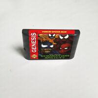Spider-Man and Venom: Separation Anxiety (1995) Sega Genesis / Mega Drive System