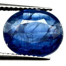 TOP ROYAL BLUE KYANITE : 4,11 Ct Natürlicher Blau kyanit / Disthene , Rhaeticite