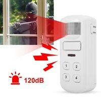 Wireless Independent Alarm Detector IR Sensor Home Security Burglar Alarm 120dB