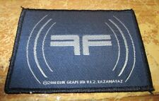 Fear Factory Collectable Vintage Patch Woven English Picture