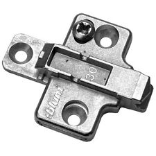 Blum Two-Piece Wing Mounting Plate - Wood Screw - 0mm - 175H7100