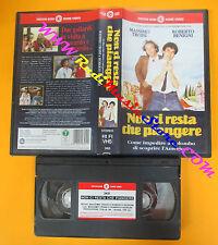 VHS film NON CI RESTA CHE PIANGERE Roberto Benigni Massimo Troisi (F123*) no dvd